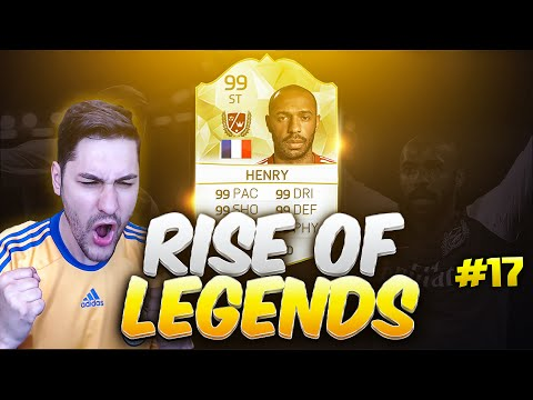 LEGEND THIERRY HENRY / RISE OF LEGENDS #17 / FIFA 15 ULTIMATE TEAM