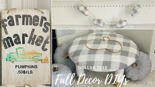 Dollar Tree DIY 🍁Farmhouse Fall Decor
