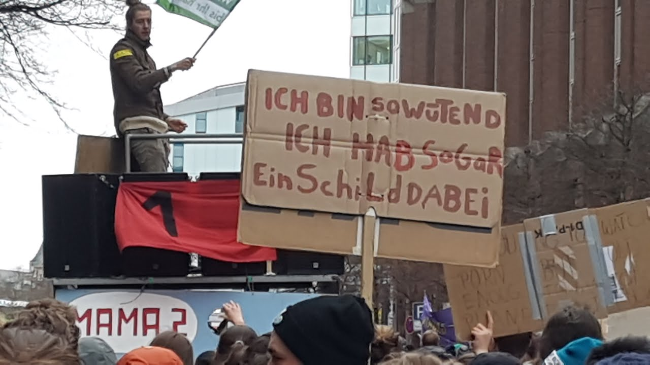 Klimademo Hamburg