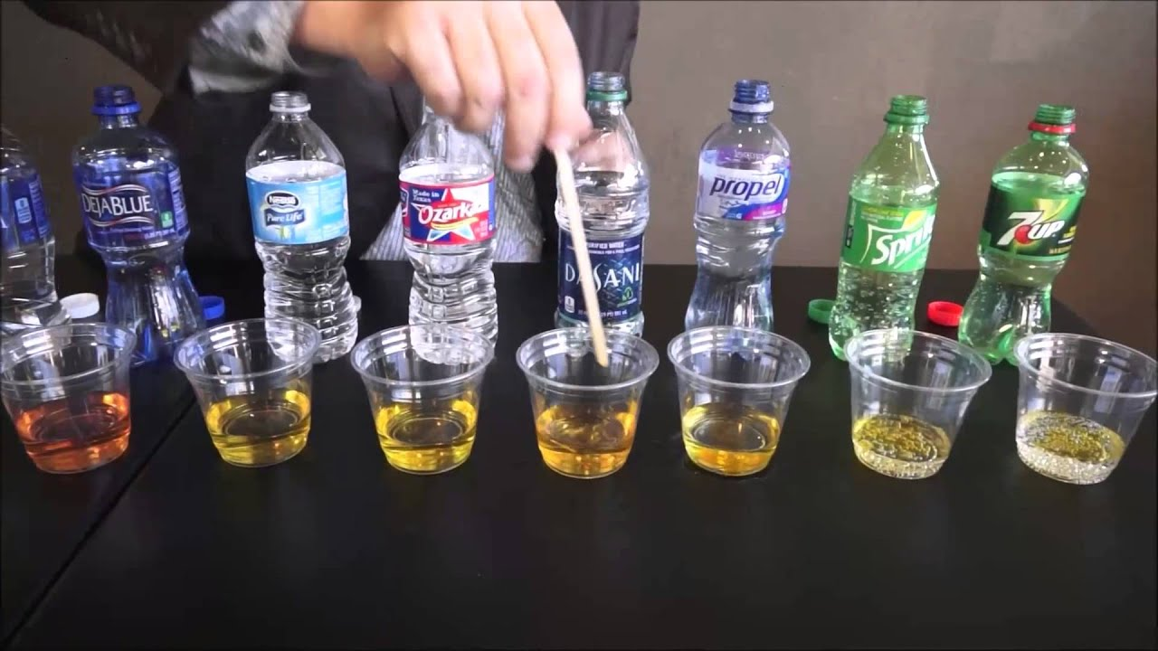 Water Ph Test Don T Drink