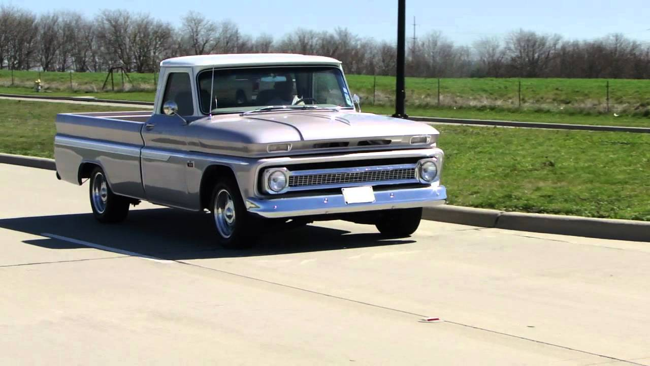 All Chevy chevy c10 craigslist : 66 Chevy C10 drive by - YouTube
