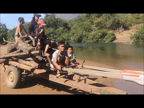 trip to Tha Falang in thakhek laos - Laos Travel