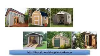 Garden Shed Designs - My Shed Plans