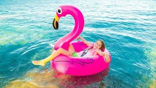 Необычный день на пляже в Rixos Sungate / Артур и Мелисса на каникулах