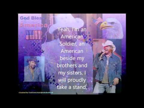 American Soldier by Toby Keith - Lyrics