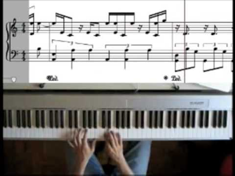 Portishead - The rip (piano cover by Lucamadeus)
