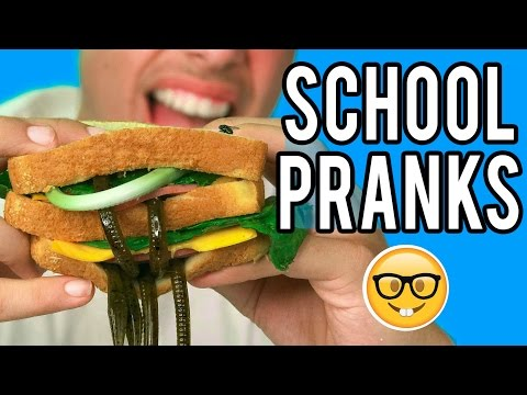 10 PRANKS FOR BACK TO SCHOOL! Natalies Outlet