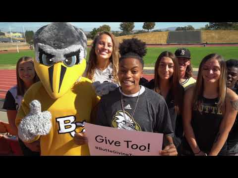Butte College Giving Tuesday 2018 - Giving Too