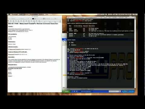 EBD-ID-17848 : Measuresoft ScadaPro RCE Metasploit Demo