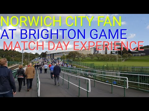 MATCH DAY AT THE AMEX VS WEST BROM 9/9/17 (NORTH STAND)