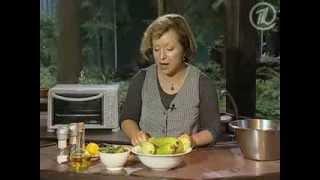Салат из кабачков с лимоном (zucchini Salad With Lemon)