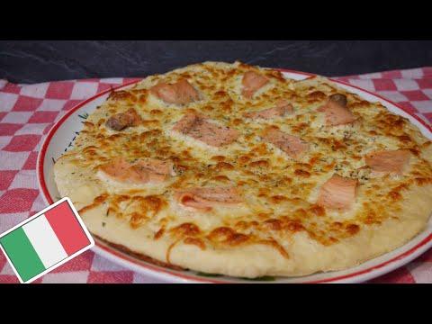 pizza-au-saumon-🍕🍕-(-recette-pÂte-À-pizza)