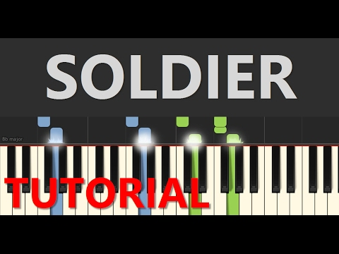Soldier Piano Tutorial Gavin Degraw Piano Tutorial By Spw Youtube