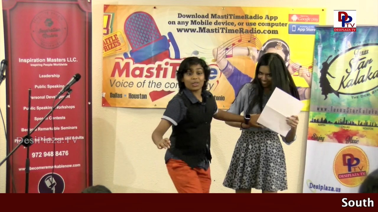 MC Arnav & Kajal start the Persuasive speech Competitions with beautiful Anchoring