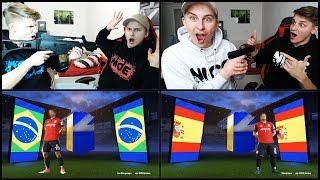 TOTS Pack Opening BATTLE vs. Brother ESCALATES + FORTNITE Softair SUPPORT 😱💎 Fifa 18 Ultimate Team