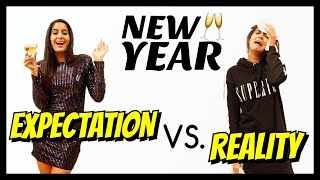 New Year : Expectation VS. Reality
