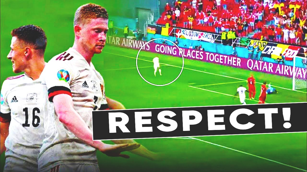 TOTAL RESPECT! THIS IS WHAT DE BRUYNE DID FOR ERIKSEN! EURO 2020