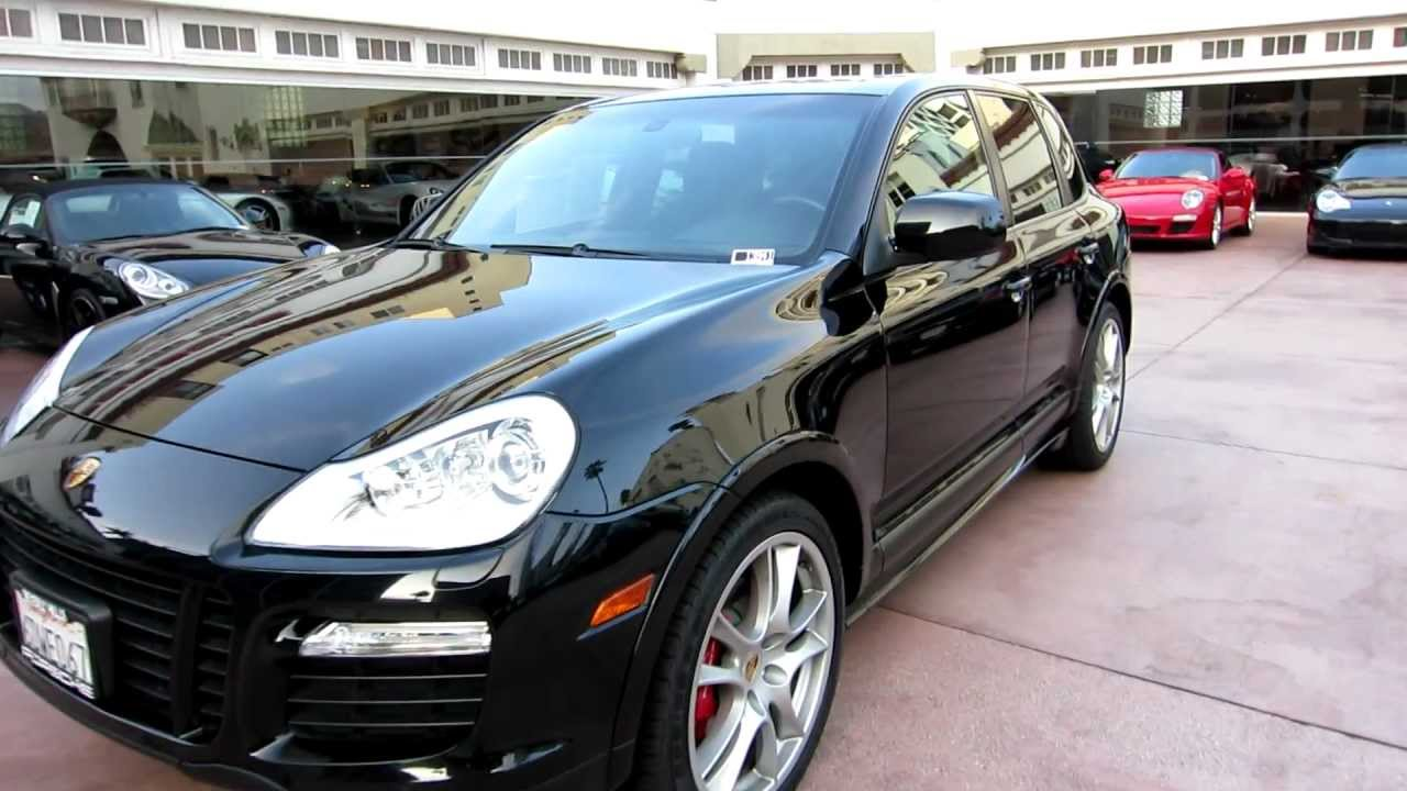 2008 Porsche Cayenne Gts Black On Black Now On Sale For