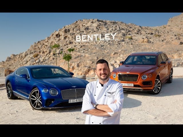 Risultati immagini per Bentley has opened a fine dine pop up restaurant on the highest mountain in the UAE foto