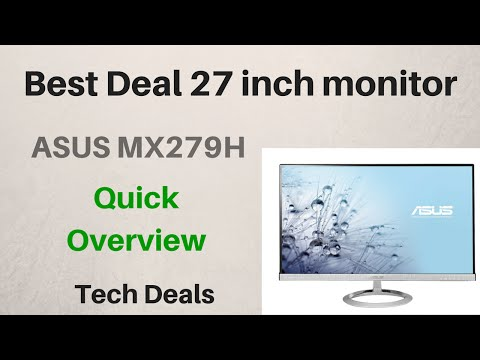 ASUS MX279H - IPS - 27 inch Monitor - Quick Overview - YouTube