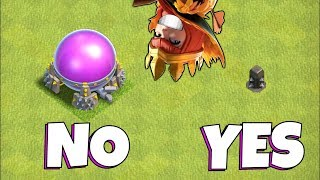 "The WORST queen  IQ EVER!!! ""Clash Of Clans"" UPGRADE PUSH!!"