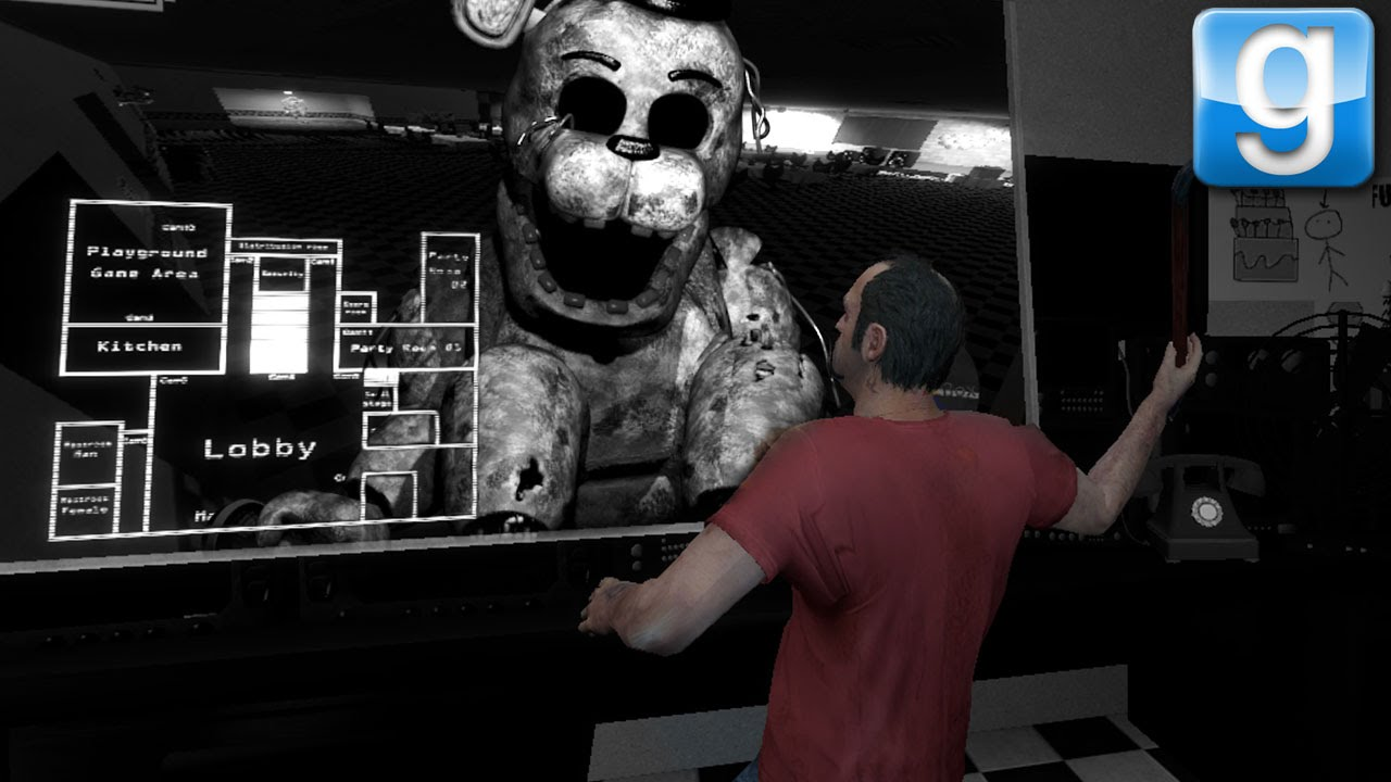 The New Five Nights At GMOD with Events!