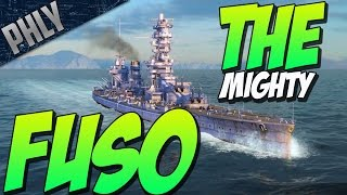 THE BEST BATTLESHIP - FUSO CLASS ( World Of Warships Battleship Gameplay)