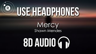 Gambar cover Shawn Mendes - Mercy (8D AUDIO)