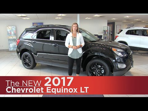 The 2017 Chevrolet Equinox LT - Mpls, St Cloud, Monticello, Buffalo, Rogers, MN - Midnight Ed.