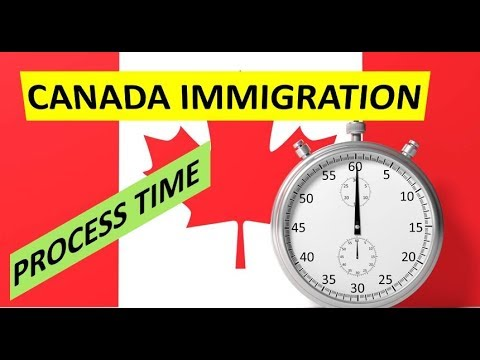 WHAT IS CANADA IMMIGRATION PROCESSING TIME?