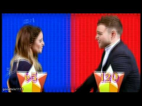 Caroline Flack and Olly Murs The Face Off!