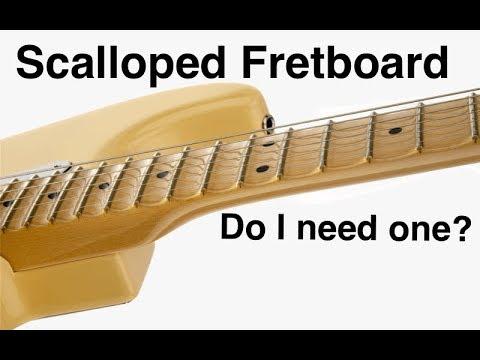 scalloped fretboard vs non scalloped youtube. Black Bedroom Furniture Sets. Home Design Ideas