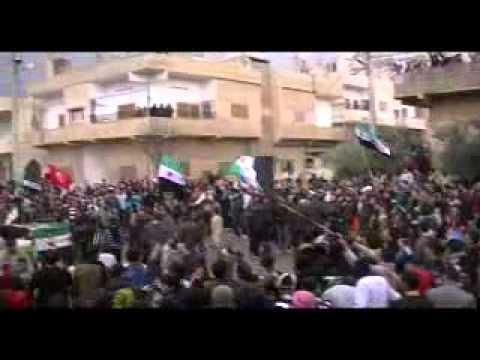 جمعة دعم  الجيش الحر درعا البلد ج6   13 1 2012