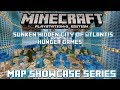 PS3 Minecraft Map Showcase: Episode 12: Sunken Hidden City of Atlantis Hunger Games