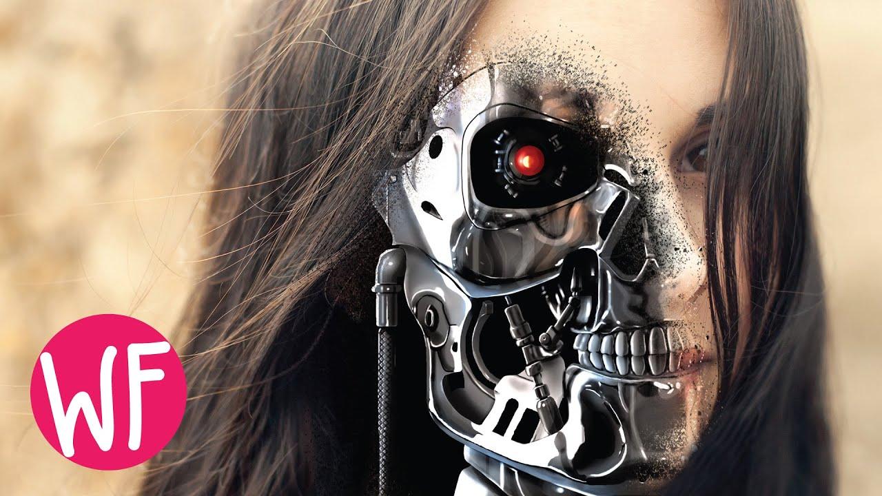 Photoshop Tutorial   Terminator Face Photoshop CS6 - YouTube