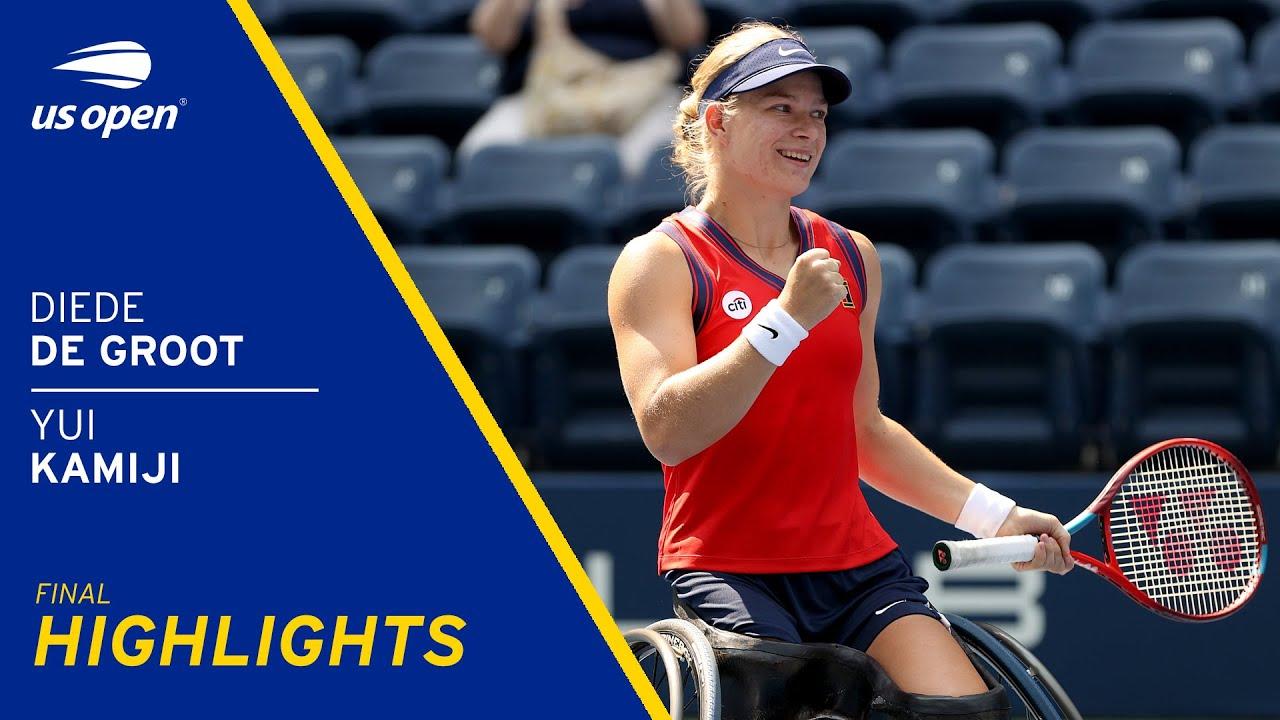 Wheelchair Women's Final | De Groot vs Kamiji Highlights | 2021 US Open Final