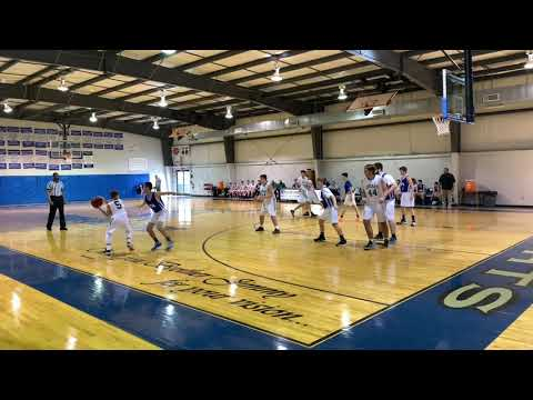 Shining Light Tournament   Cougars vs. Greater Vision Academy 12/21/2019