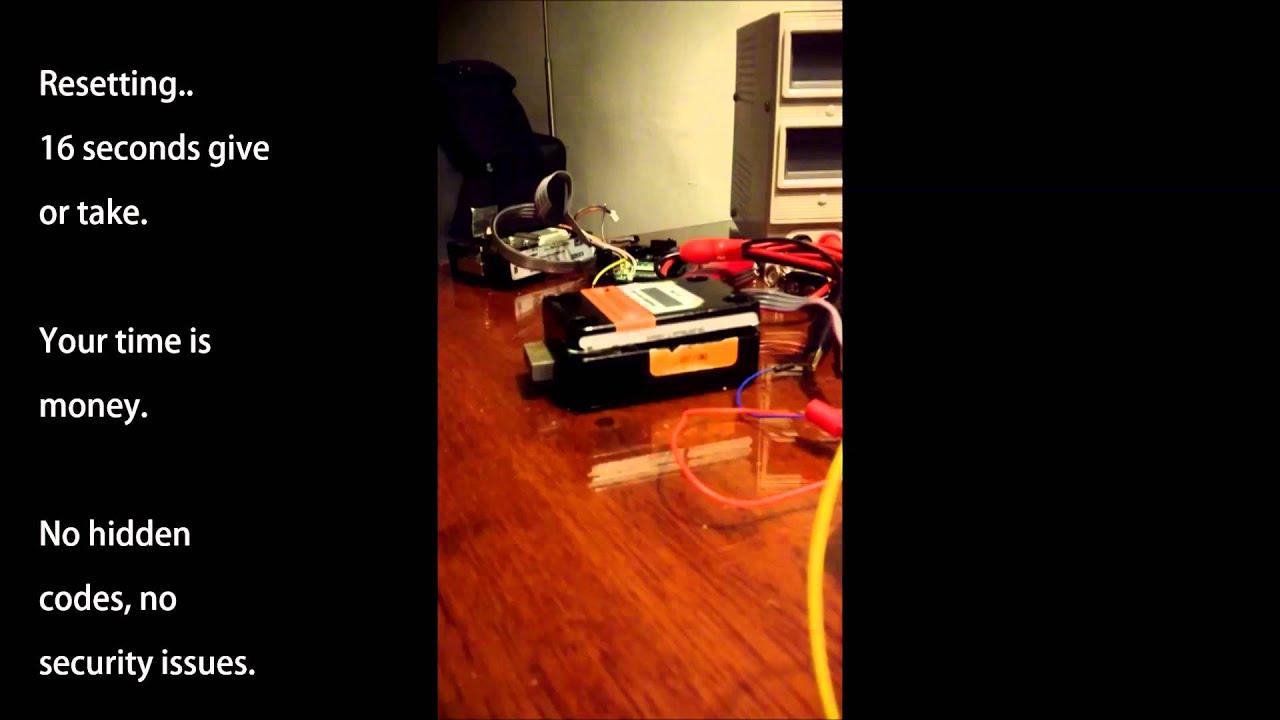 S&G Electronic lock reset tool