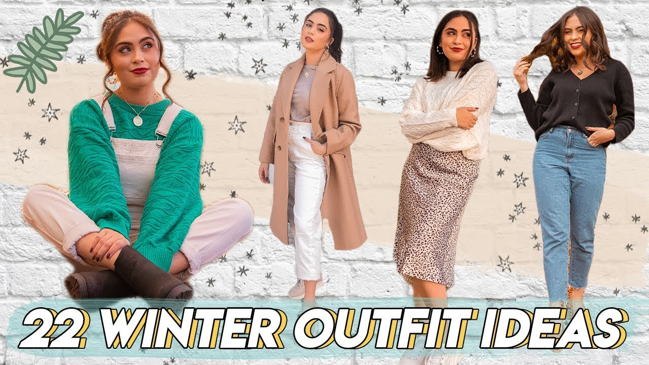 [VIDEO] - 22 STYLISH WINTER OUTFIT IDEAS *look cute + stay warm*  ♡ 5