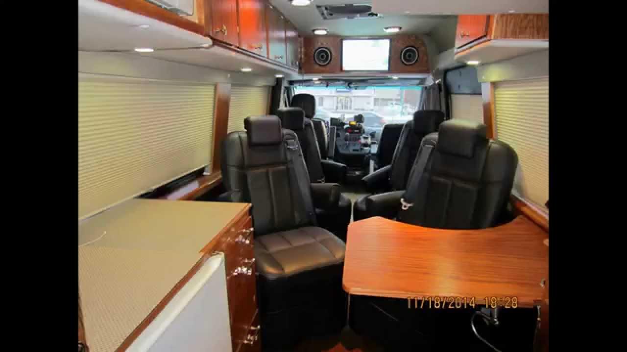 Mercedes Benz Sprinter Luxury Rv Mobile Office Camper