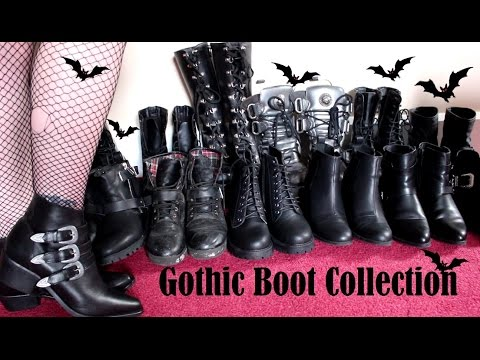 GOTHIC BOOT COLLECTION 2016 - New Look to New Rock