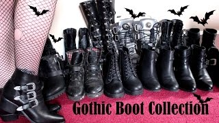 GOTHIC BOOT COLLECTION 2016 - New Look to New Rock Video