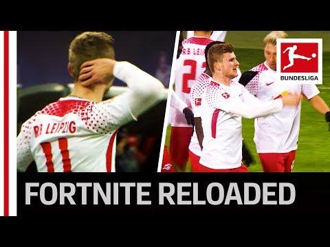 Werner's Fortnite Celebration After Winning Goal Against Bayern