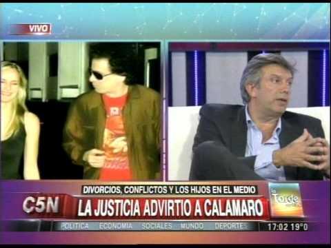 C5N - JUSTICIA: ADVERTENCIA A ANDRES CALAMARO