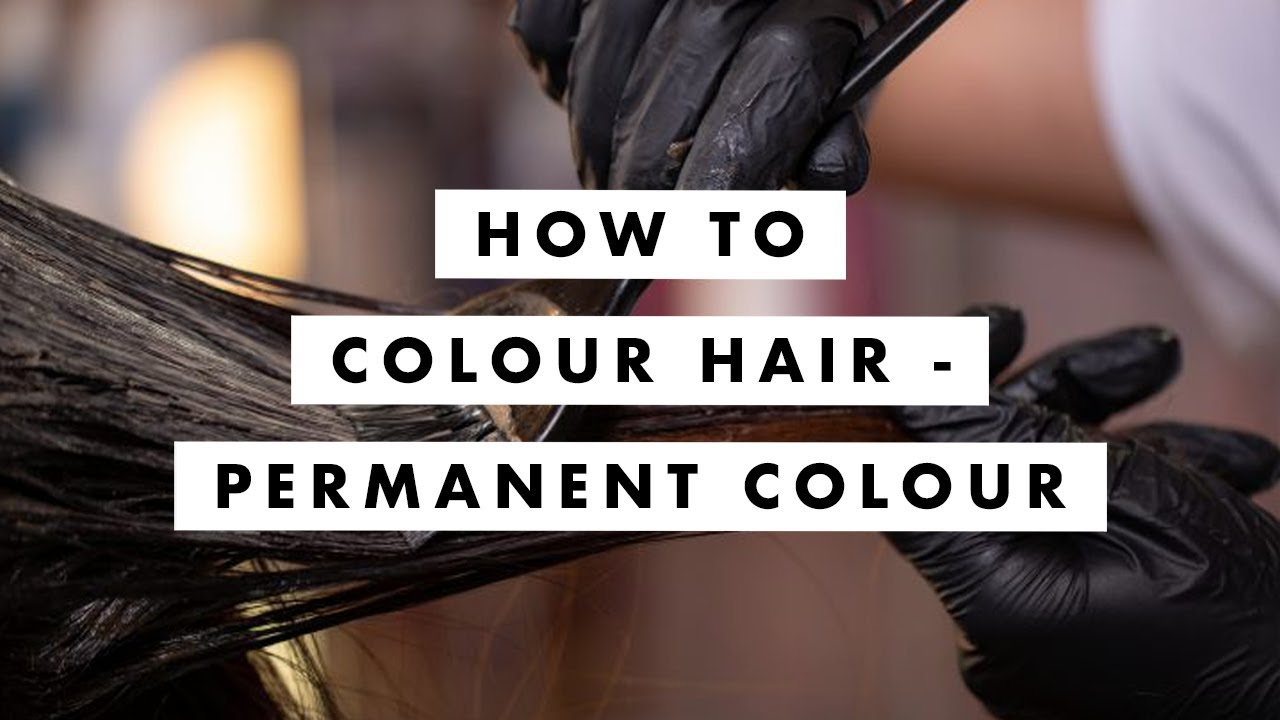 Download How to Colour Hair - Permanent Colour -- Tutorial / Lesson - MIG Training