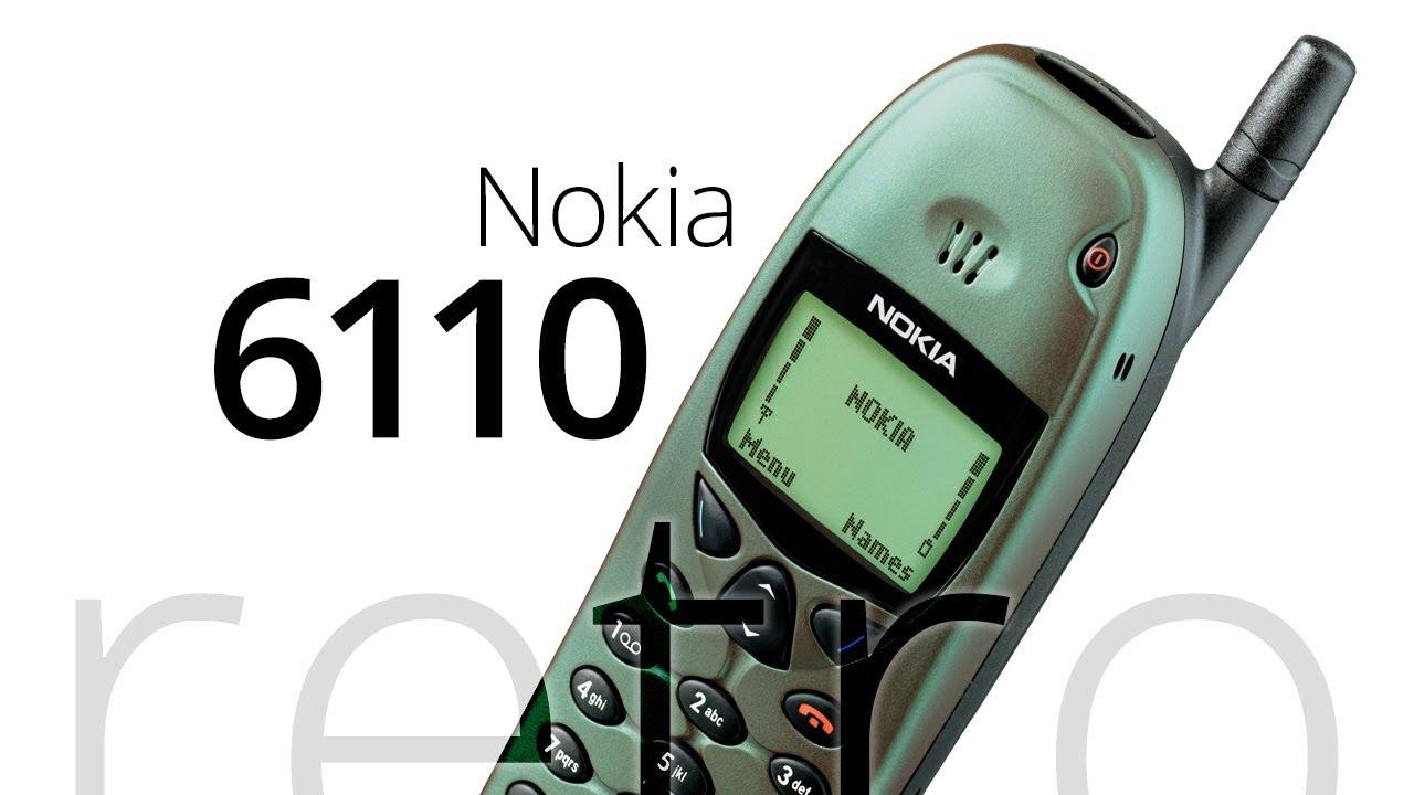 Retro: Nokia 6110