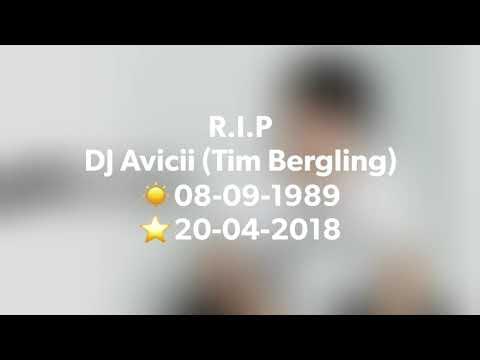 R.I.P. DJ Avicii (Tim Bergling)