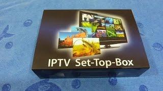 Приставка для интернет телевидения iptv Mag250