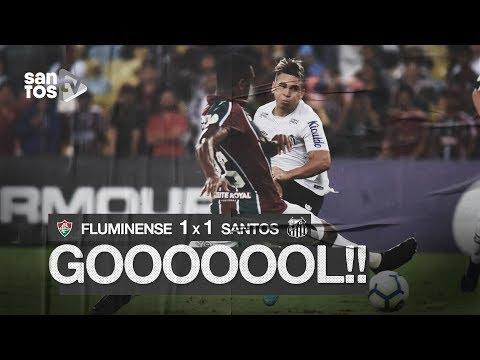 FLUMINENSE 1 X 1 SANTOS | GOL | BRASILEIRÃO (26/09/19)