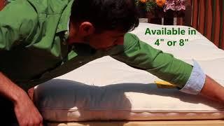 Organic cotton futon mattress- japanese and indian style.